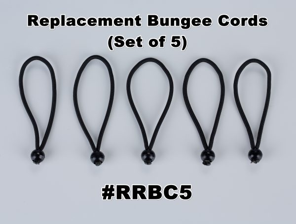 BUNGEE CORDS: SET OF 5